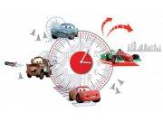 Dekorace hodiny Cars D70103, rozměry 25 x 70 cm Dekorace Cars