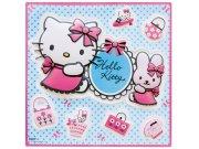 3D dekorace Hello Kitty D70460, rozměry 29 x 29 cm Dekorace Hello Kitty