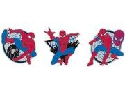 Pěnové figurky spiderman D23668, 3 ks Dekorace Spiderman