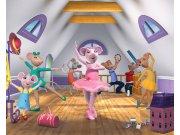Fototapeta 3D Angelina Ballerina Walltastic 40557, 305 x 244 cm Fototapety pro děti - Rozměr 244 x 305 cm