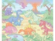 Fototapeta 3D Baby Dino Walltastic 40618, 305 x 244 cm Fototapety pro děti - Rozměr 244 x 305 cm