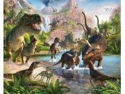 Fototapeta 3D Dinosauři Walltastic 41745, 305 x 244 cm Fototapety pro děti - Rozměr 244 x 305 cm