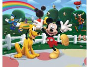 Fototapeta 3D Mickeyho klubík Walltastic 42056, 305 x 244 cm Fototapety pro děti - Rozměr 244 x 305 cm