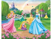 Fototapeta 3D Princezny Walltastic 42087, 305 x 244 cm Fototapety pro děti - Rozměr 244 x 305 cm