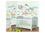 Samolepicí dekorace Walltastic Baby farma 41066 Dekorace Farma