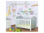 Samolepicí dekorace Walltastic Baby Jungle 41059 Dekorace ostatní