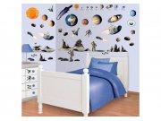 Samolepicí dekorace Walltastic Vesmír 41127 Dekorace ostatní