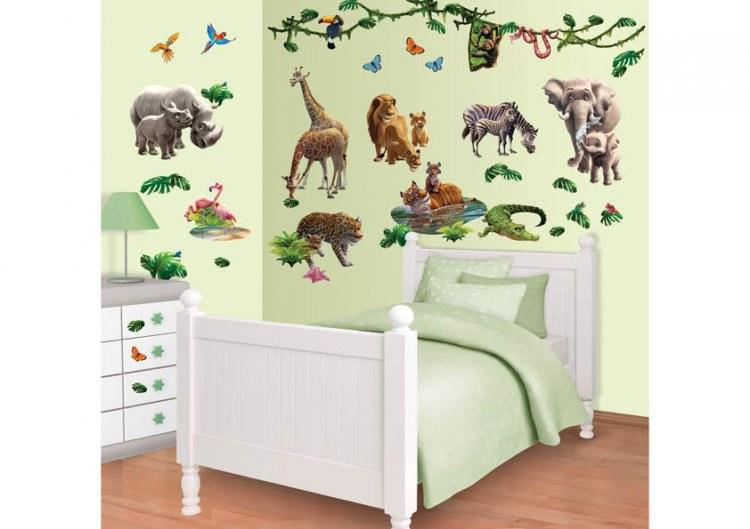 Samolepicí dekorace Walltastic Džungle 41080 - Dekorace ostatní