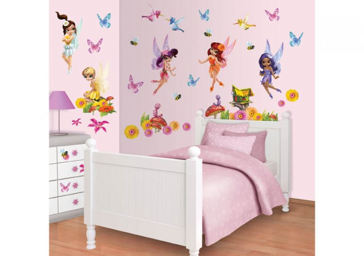 Samolepicí dekorace Walltastic Víly 41110 - Dekorace Fairies Víly