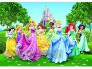 Fototapeta Princezny v zahradě FTDS-2207, rozměry 360 x 254 cm Fototapety pro děti - Rozměr 360 x 254 cm