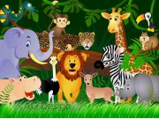 Fototapeta Jungle FTS-1307, rozměry 360 x 254 cm Fototapety skladem