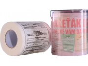 Toaletní papír Daňové přiznání Toaletní papír dárkový