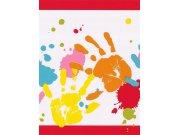 Dětská papírová bordura na zeď dlaně 232202 Dětské bordury