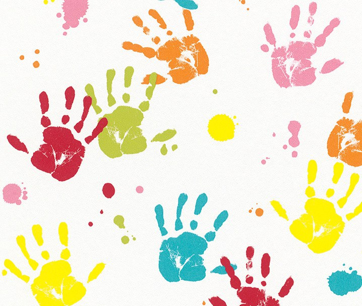 Dětské tapety dlaně 232103 | Dětské tapety na zeď