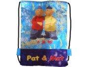 Školní sáček na bačkory Pat a Mat, 40 x 27 cm Sáčky na přezůvky