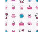 Dětské tapety Hello Kitty 73499, rozměry 0,52 x 10 m Tapety Disney