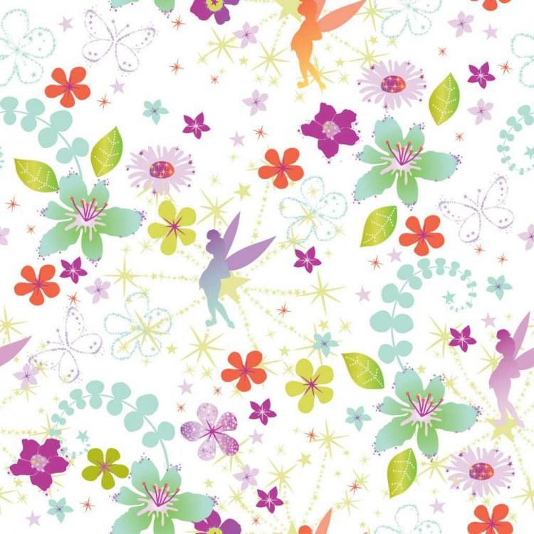 Dětské tapety Fairies 72399, rozměry 0,52 x 10 m - Tapety Disney