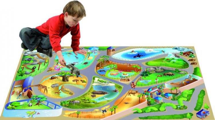 Dětský koberec ZOO, rozměry 100 x 150 cm - Dětské koberce