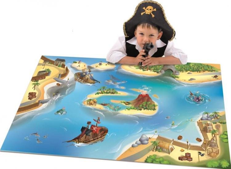 Dětský koberec Piráti, rozměry 100 x 150 cm - Dětské koberce