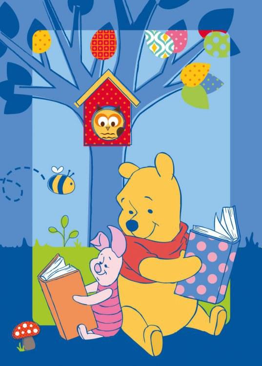 Dětský koberec Medvídek Pú W86, rozměry 95 x 133 cm - Dětské koberce
