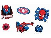 Mini pěnové figurky Spiderman D23968, 14 ks Dekorace Spiderman