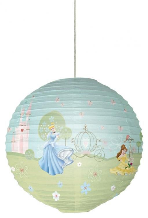Papírový lustr Princezny 82711, průměr 34 cm | Dětské světla Světla Princezny