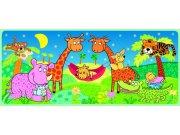 Fototapeta Žirafy a houpačka FTV-0529, rozměry 202 x 90 cm Fototapety skladem