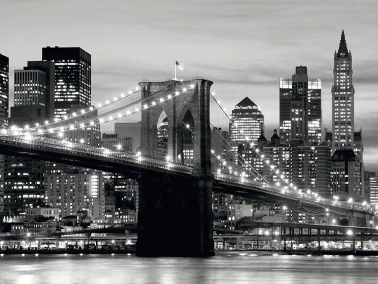 Fototapeta 8dílná most a město | Fototapety - FOTOTAPETY 8 DÍLNÉ