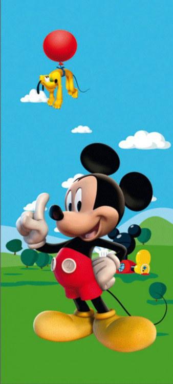 Fototapeta 1dílná Mickey Mouse na louce | Fototapety - FOTOTAPETY PRO DĚTI