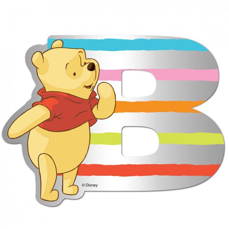 Medvídek Pú zrcátko 002B, rozměry 9 x 7 cm | Dekorace do dětských pokojů Dekorace Medvídek Pú