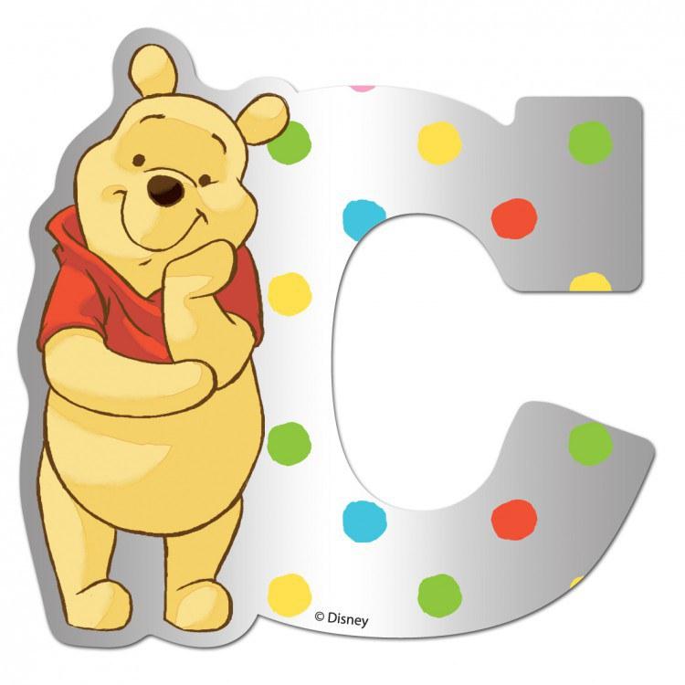 Medvídek Pú zrcátko 003C, rozměry 9 x 7 cm | Dekorace do dětských pokojů Dekorace Medvídek Pú