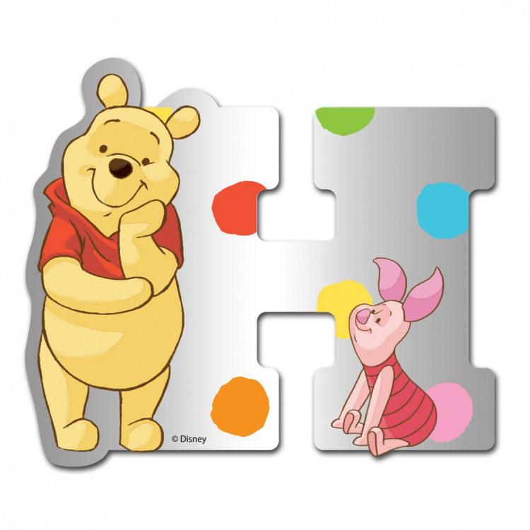Medvídek Pú zrcátko 008H, rozměry 9 x 7 cm | Dekorace do dětských pokojů Dekorace Medvídek Pú