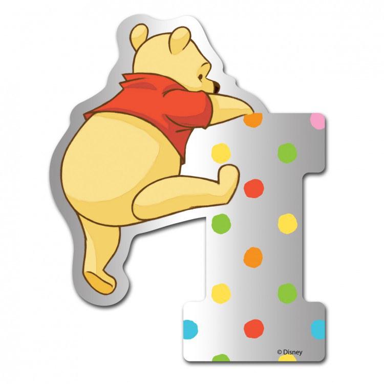 Medvídek Pú zrcátko 009I, rozměry 9 x 7 cm | Dekorace do dětských pokojů Dekorace Medvídek Pú