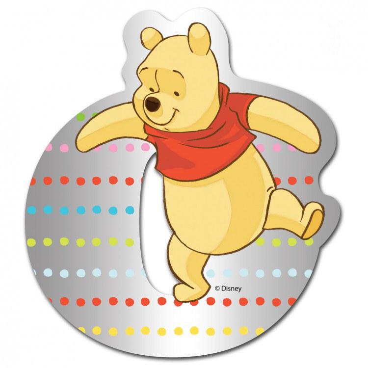 Medvídek Pú zrcátko 015O, rozměry 9 x 7 cm | Dekorace do dětských pokojů Dekorace Medvídek Pú