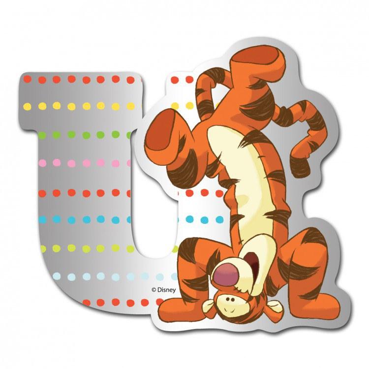 Medvídek Pú zrcátko 021U, rozměry 9 x 7 cm | Dekorace do dětských pokojů Dekorace Medvídek Pú