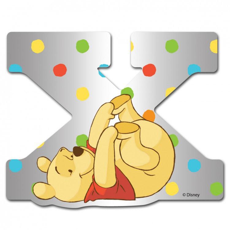 Medvídek Pú zrcátko 024X, rozměry 9 x 7 cm | Dekorace do dětských pokojů Dekorace Medvídek Pú