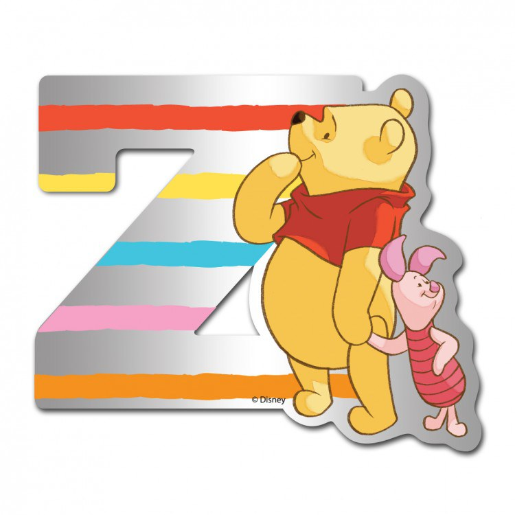 Medvídek Pú zrcátko 026Z, rozměry 9 x 7 cm - Dekorace Medvídek Pú