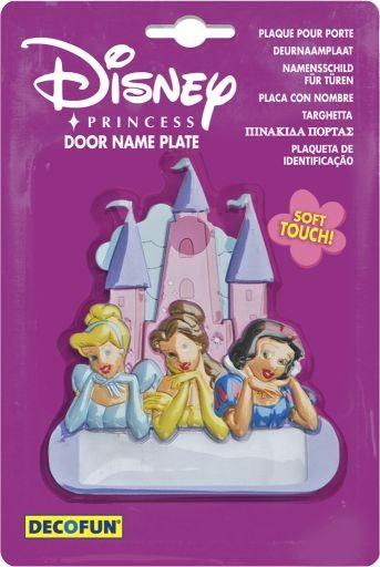 Jmenovka na dveře Princezny D48011, rozměry 12 x 12 cm - Dekorace Princezny