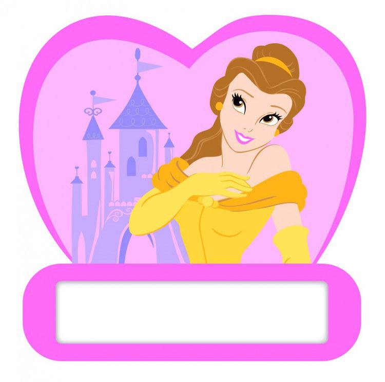 Jmenovka na dveře Princezny D48312, rozměry 12 x 12 cm - Dekorace Princezny