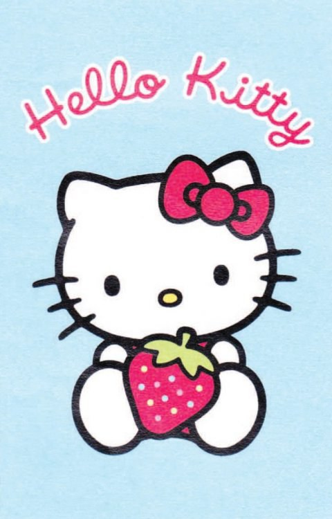 Dětský koberec Hello Kitty modrá, rozměry 80 x 120 cm | Dětské koberce Koberce Hello Kitty