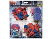 Mini pěnové figurky Spiderman D23869, 24 ks Dekorace Spiderman