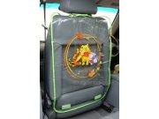 Medvídek Pú - Ochrana předních sedadel (medvídek) Kapsáře do auta