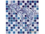 Samolepky na kachličky set 6ks dolphins Nálepky na kachličky