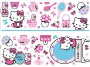 Nálepky na zeď Hello Kitty D41060, rozměry 70 x 50 cm Dekorace Hello Kitty