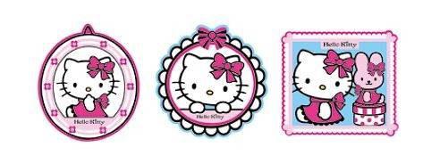 Pěnové figurky Hello Kitty D23660, 3 ks - Dekorace Hello Kitty