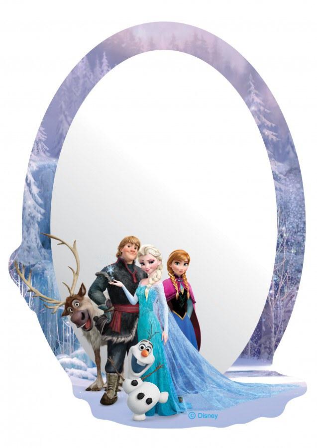 Zrcátko Frozen DM2110 - rozměry 15 x 21,5 cm - Dekorace Ledové Království