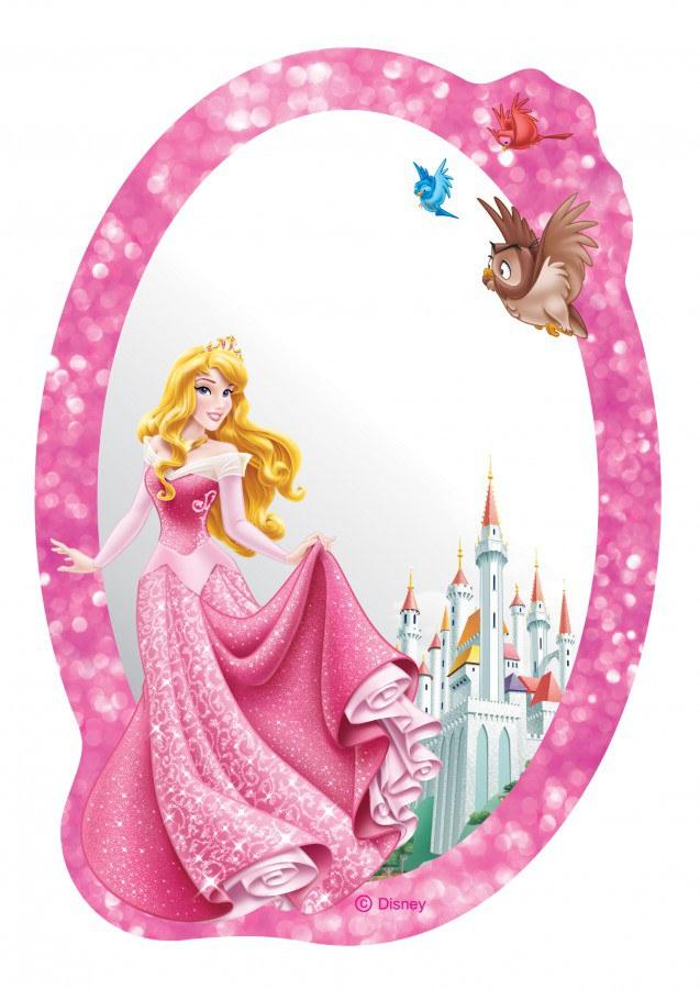 Zrcátko Princezna DM2119 - rozměry 15 x 21,5 cm - Dekorace Princezny