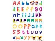 Maxi nálepka Mickey abeceda DK-0895, rozměry 85 x 65 cm Dekorace Mickey Mouse