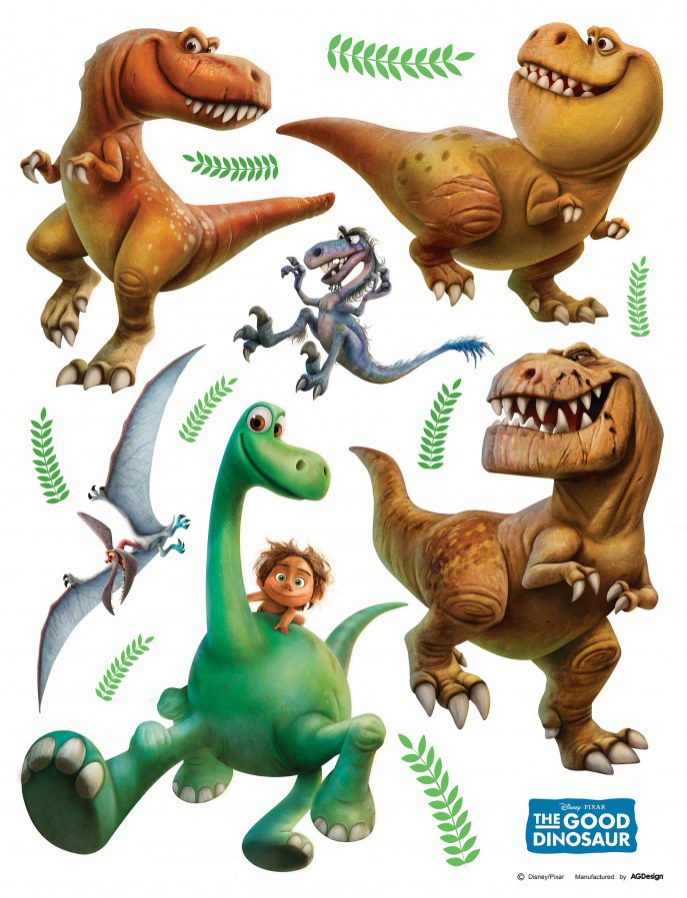 Maxi nálepka Dinosaurus AG Design DK-1791, rozměry 85 x 65 cm - Dekorace Dinosauři