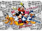 Fototapeta Mickey Mouse FTDNXXL-XXL5056, rozměry 360 x 270 cm Fototapety pro děti - Fototapety dětské vliesové